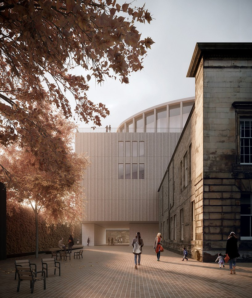 david chipperfield impact centre