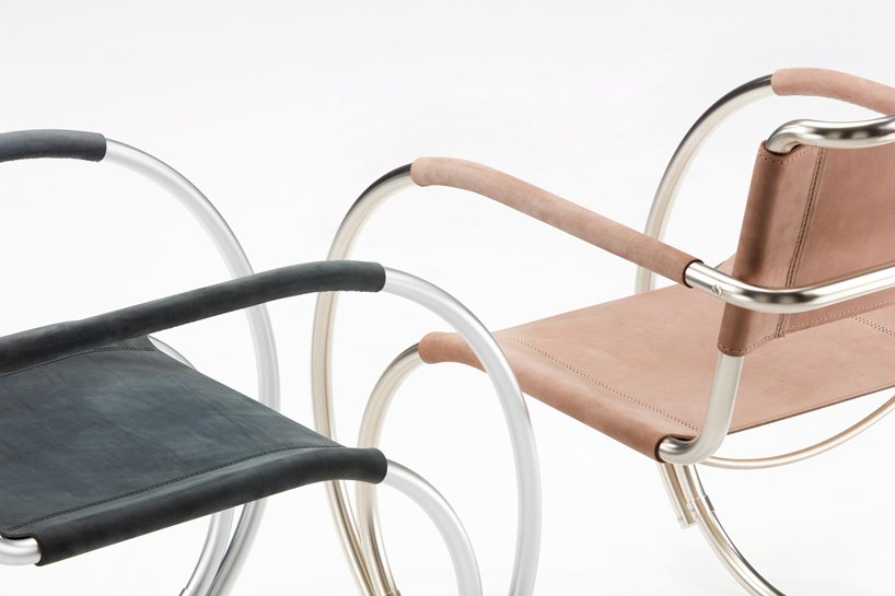the bauhaus turns 100 and THONET celebrates with a limited edition chair by besau marguerre designboom