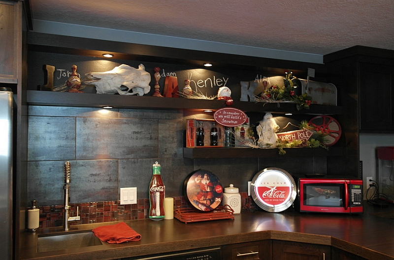 Coca-Cola themed decorations add to the festive joy of the Holiday season