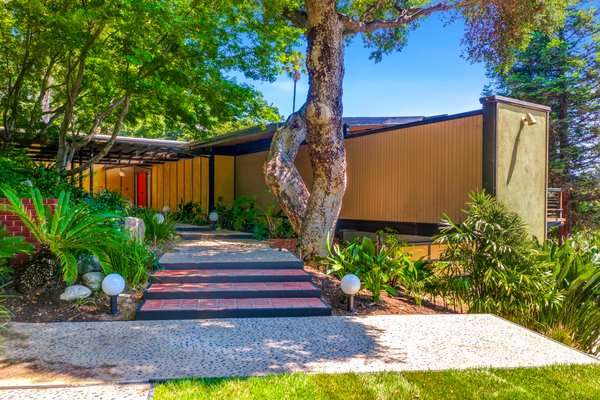 Beck's Former Post-and-Beam Midcentury Home Lists For $5M