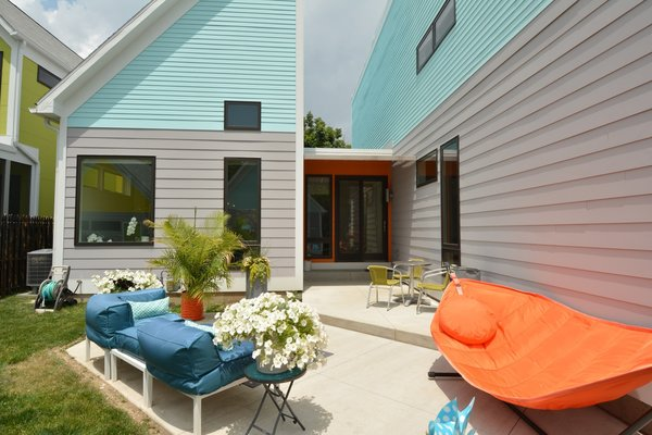 IndyMod's mission is simple: to bring healthy, sustainable, durable, and beautifully designed custom homes to Indiana. The prefab home company offers contemporary designs inspired by the building vernacular of the Midwest.