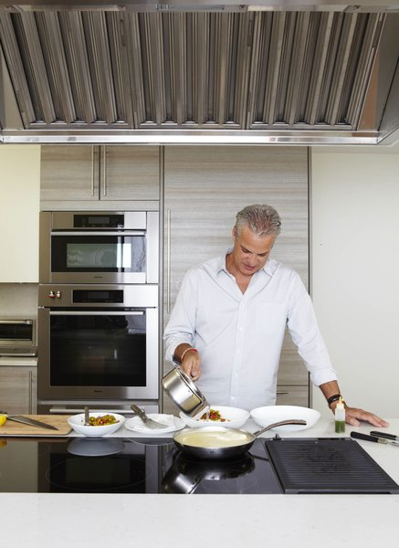 Eric Ripert invited Dwell into his personal kitchen he co-designed with Poggenpohl and made us the perfect cod basquaise.