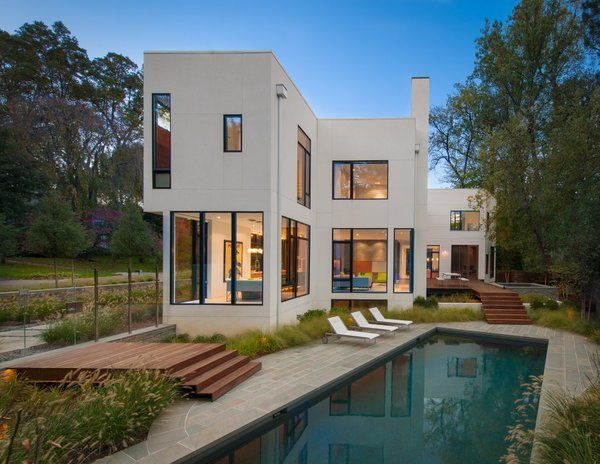 Washington, DC–based Robert Gurney Architects designed this home for clients seeking a light-filled, modern residence. It's composed of 13 modules that were built in a Virginia factory in less than two weeks.