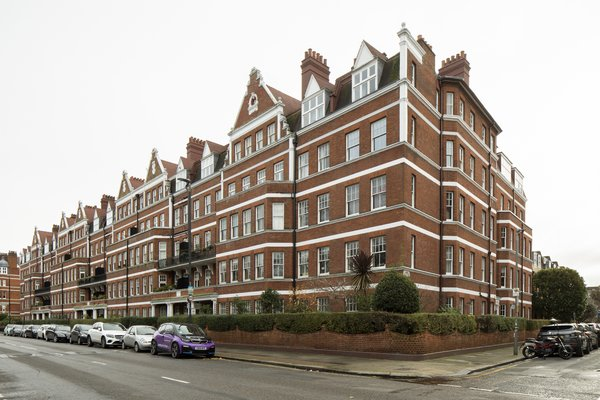 Cyril Mansions is a Victorian-era apartment building on Prince of Wales Drive in London.