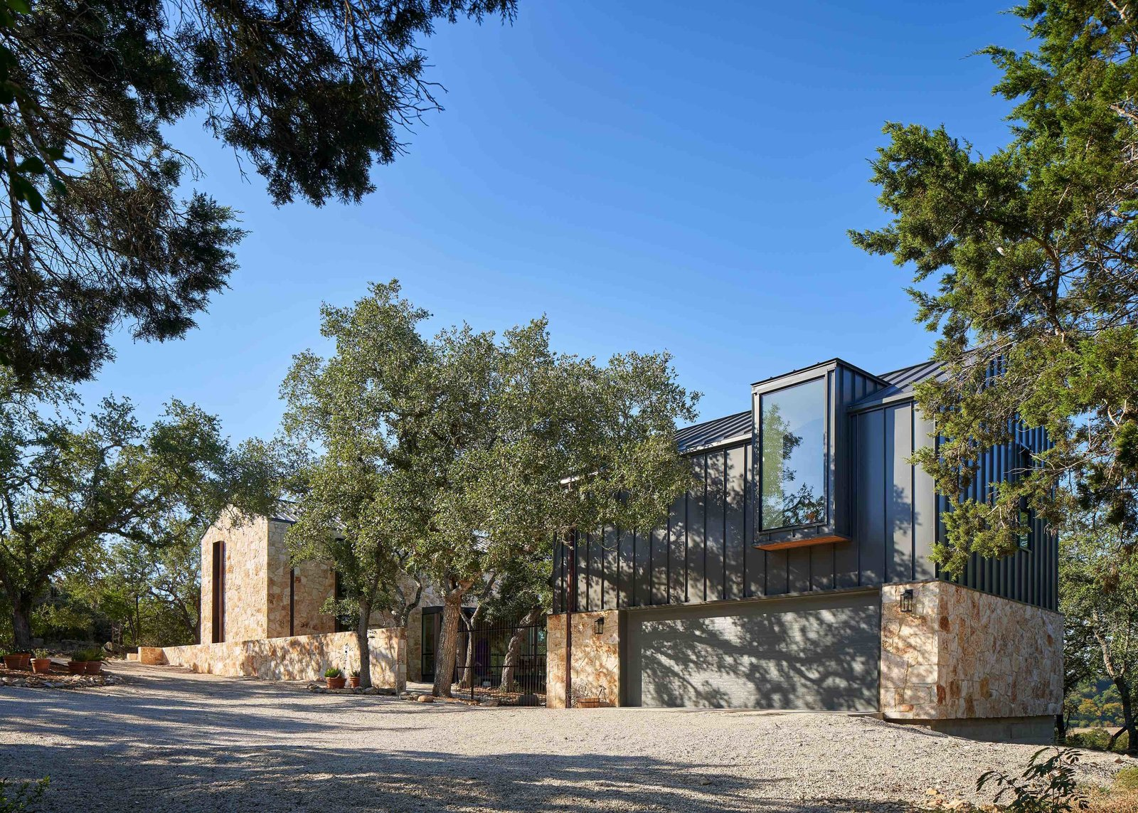 The couple, who both have engineering backgrounds, enjoyed sharing their ideas with the architects. The result is their Hill Country dream home.