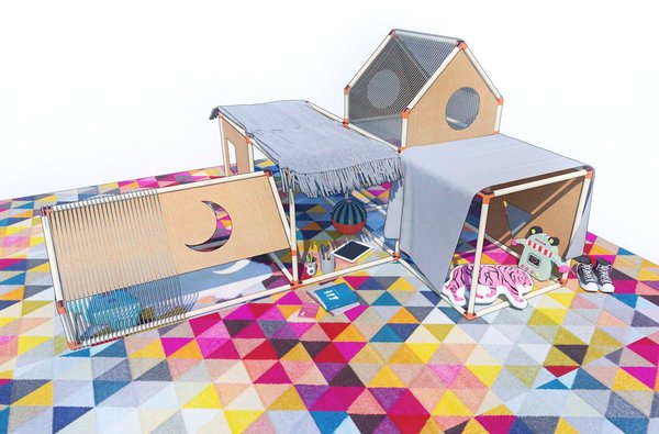 Keep the kids occupied this holiday weekend by creating the blanket fort of their (and your) dreams. If you need inspiration, check out the above plans for a soundproof blanket fort developed by the K-12 Education Team at Perkins & Will.