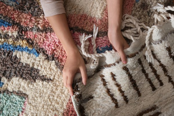 """<span style=""""font-family: Theinhardt, -apple-system, BlinkMacSystemFont, &quot;Segoe UI&quot;, Roboto, Oxygen-Sans, Ubuntu, Cantarell, &quot;Helvetica Neue&quot;, sans-serif;"""">Revival Rugs cofounder Ben Hyman shares his expertise on the different types of Moroccan rugs—and how to show them love once they're in your home.</span>"""
