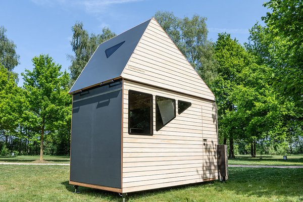 The all-wood Opperland is the newest all-season structure on offer from Dutch company Haaks. The company started by challenging what the outdoor experience can be—and it later transitioned to tiny homes. In less than 100 square feet, their smallest design embodies both the spirit of the outdoors and the functionality of a compact home.