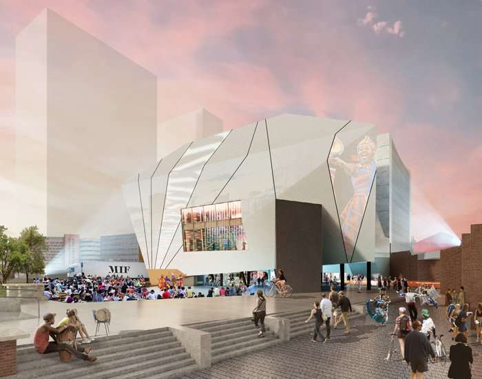 the factory: OMA-designed venue in manchester moves ahead, new images revealed