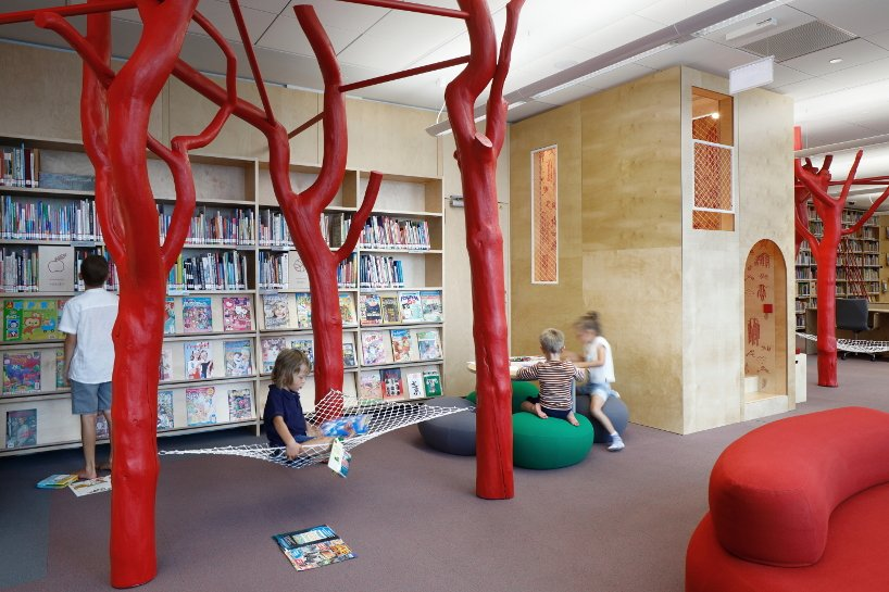 GAISS refurbishes a library in latvia to encourage children to discover the joys of reading
