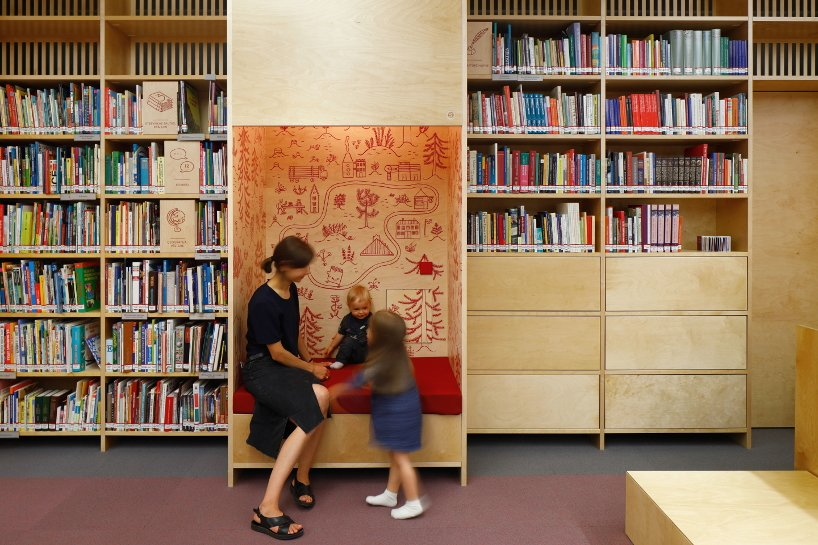 gaiss refurbishes a library to encourage children to discover the joys of reading 6