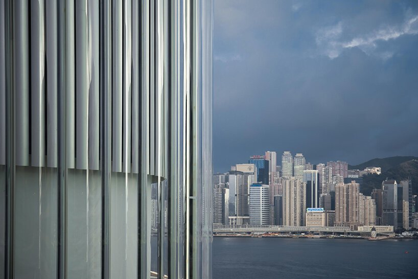 SO – IL wraps K11 art and cultural center in hong kong with a façade of glass tubes