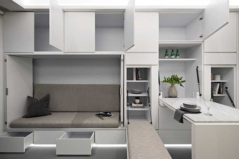 k thengono designs a compact living that fits everyday needs for a young married couple 5
