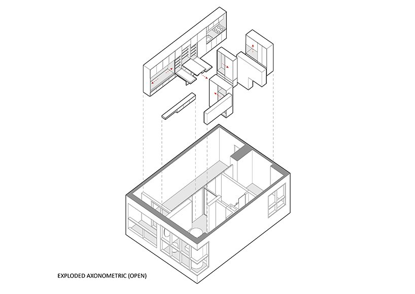 k thengono designs a compact living that fits everyday needs for a young married couple 9