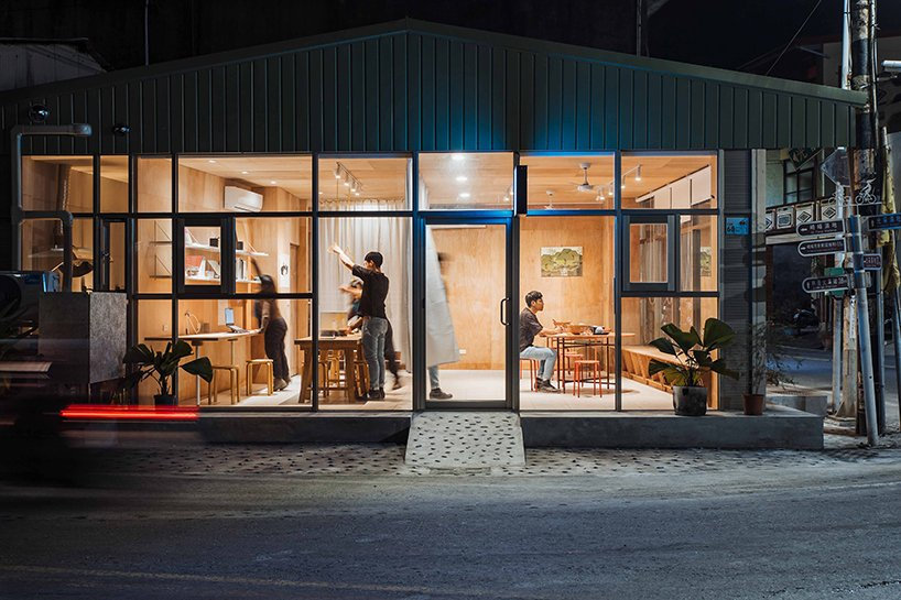 atelier boter completes 'the fish forest office' in a taiwanese fishing village designboom