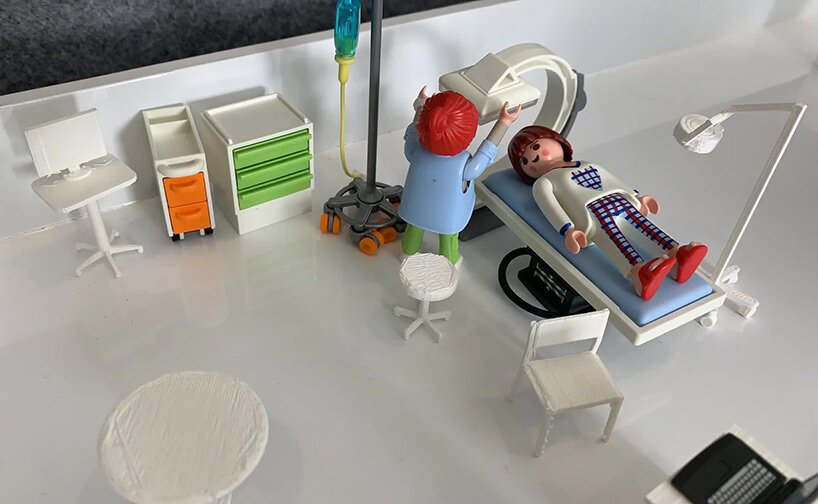 designers are using playmobil figures and 3D-printed furniture to rethink healthcare spaces