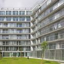 Ourcq Jaures Student & Social Housing. Image © Philippe Ruault