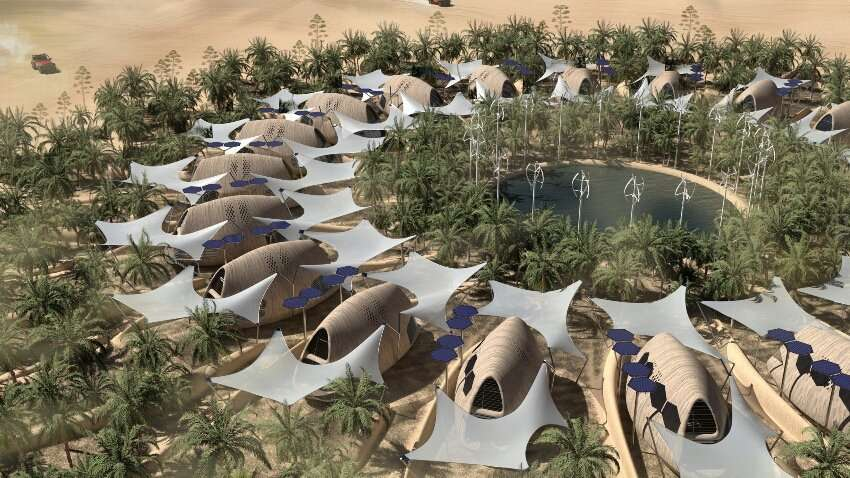 W-LAB proposes self-sufficient biocabins for the post-climate change age
