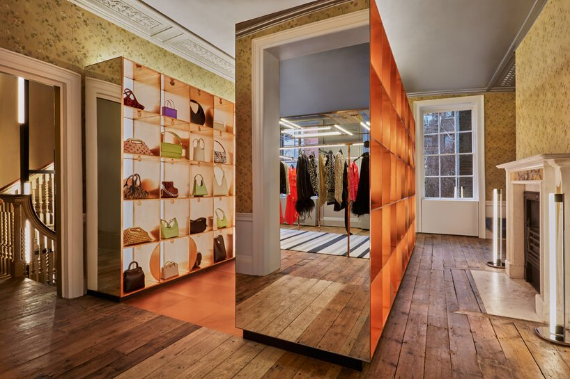 dimorestudio browns' flagship london store designboom