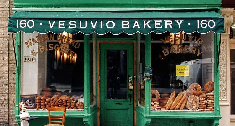 The Precarious State of the Mom-and-Pop Store, Vesuvio Bakery in Little Italy, New York, 2004. Image © James & Karla Murray