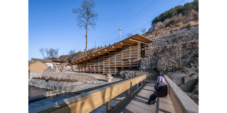 """Winner for the year 2021 in architectural design: """"Zheshui Natural Library"""" by LUO studio . ImagePhoto © Jin Weiqi"""