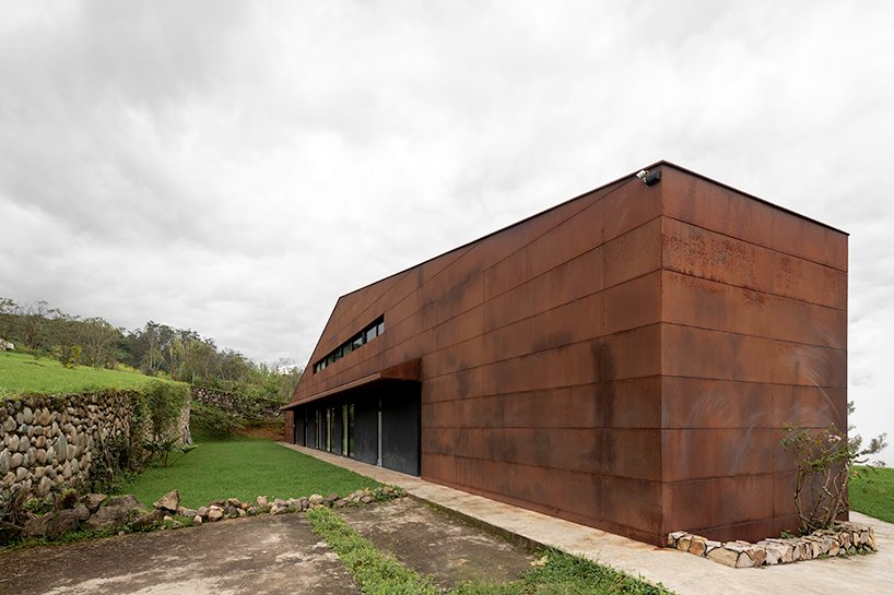 old warehouse is transformed into modern country house in ecuador by sebastián mora