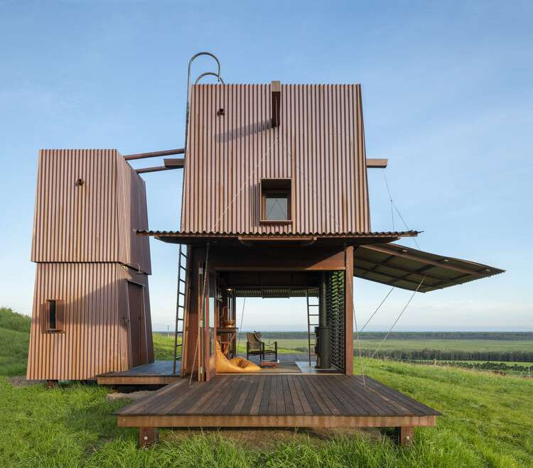 Permanent Camping 2 / Casey Brown Architecture, © Andrew Loiterton