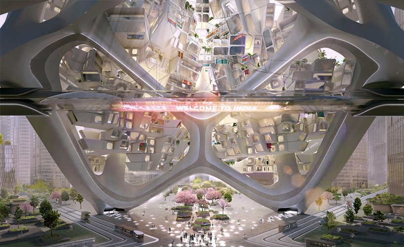 the glo cal experience is a post pandemic modular skyscraper system aimed to revive toursim and the global economy 2