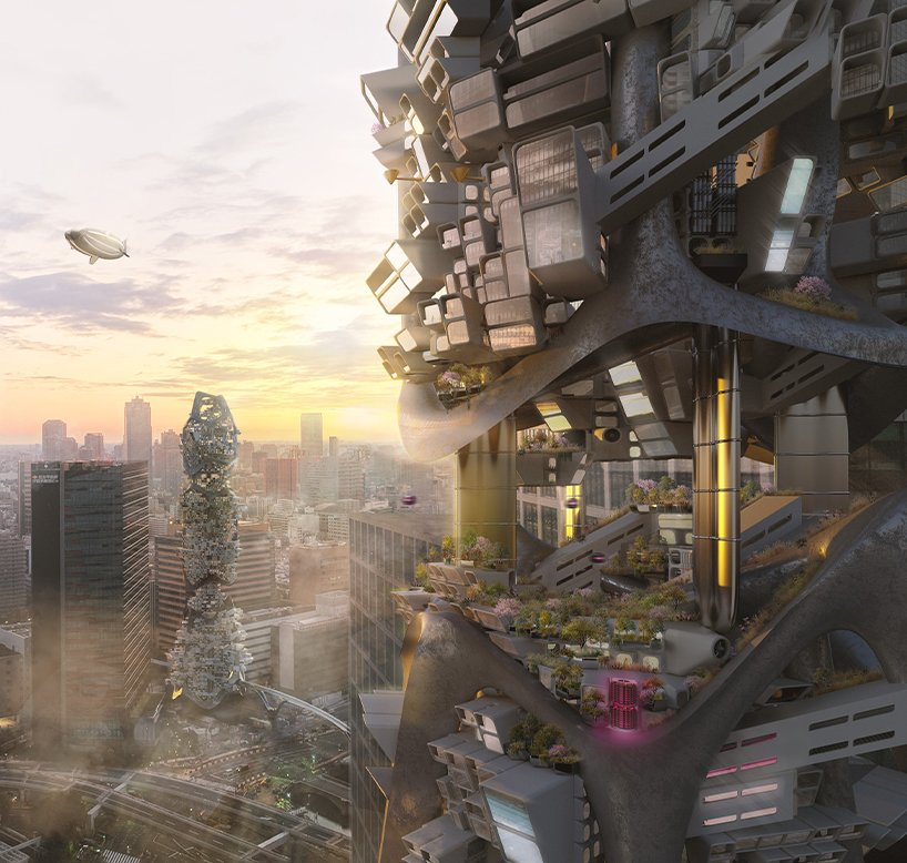 the glo cal experience is a post pandemic modular skyscraper system aimed to revive toursim and the global economy 1
