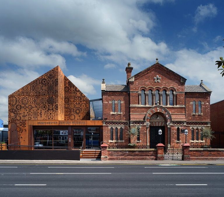 newly unveiled manchester jewish museum hybridizes industrial and religious heritage