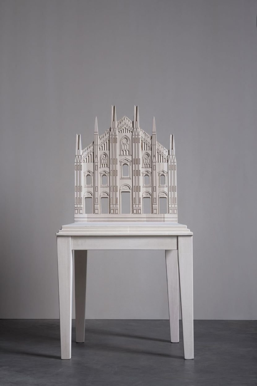 16 iconic city monuments reimagined as backrests in CITYNG chair collection