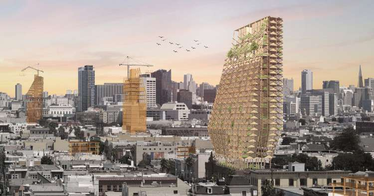 4 Projects That Show Mass Timber is the Future of American Cities, Courtesy of DLR Group