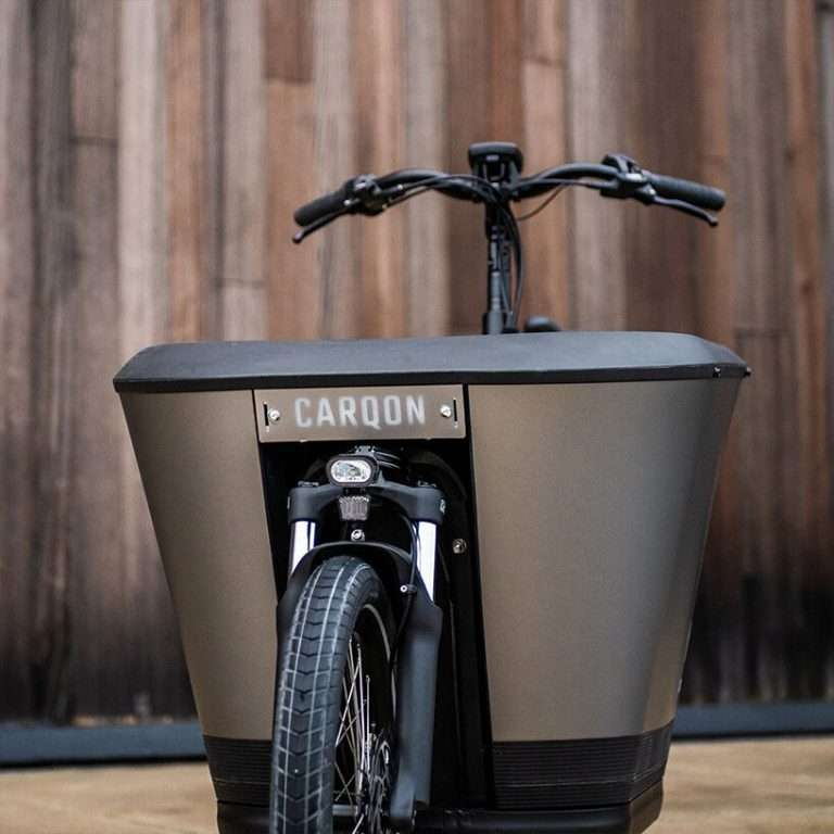 meet the first electric cargo family bike with an integrated children's door