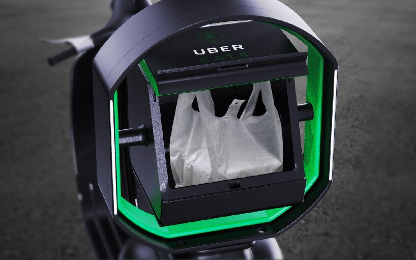 uber balance delivery system stops food from spilling out