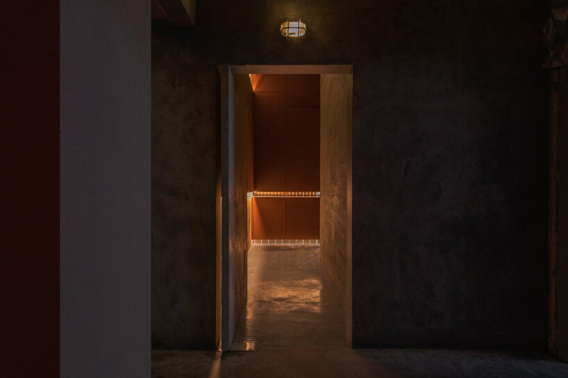 all design studio creates an experiential journey to find this hidden bar in shanghai