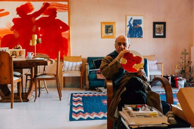inside the colorful home and studio of greek artist alekos fassianos